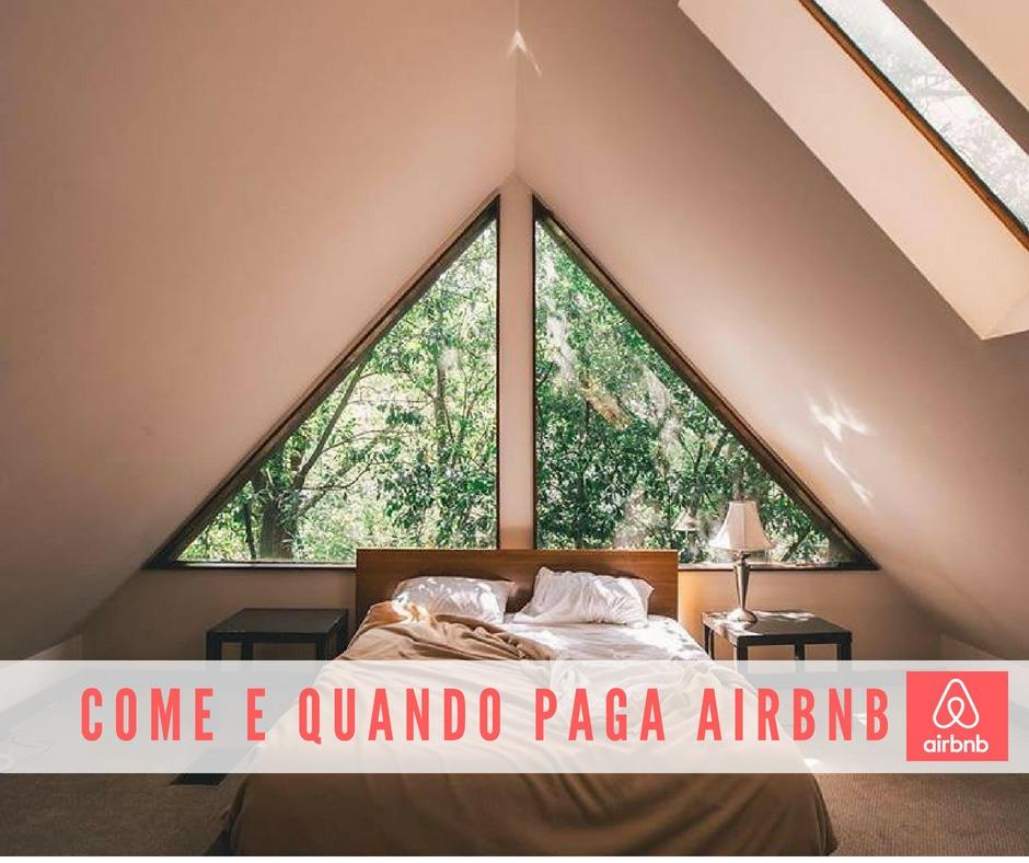 come e quando paga Airbnb