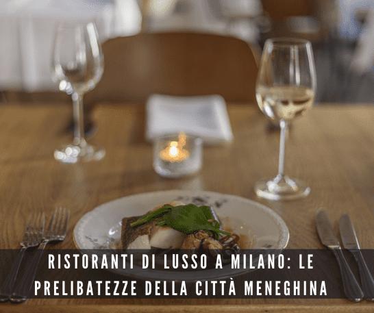 ristorante lusso